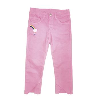 Pantalon-en-color-rosado-con-bordados-marca-Codelin-para-bebe-niña