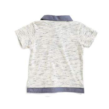 Camiseta-tipo-polo-color-mostaza-con-bordado-marca-Codelin-para-bebe-niño